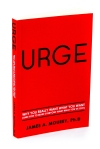 book cover for urge