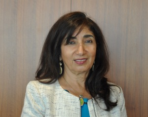 Profile picture of Sabah AlMoayyed a dark-haired woman.