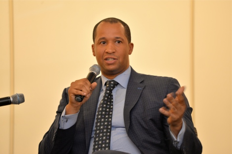 "Alumnus Malik Murray, vice president at Ariel Capital, was a panelist for the ""Diversity at Driehaus"" talk."