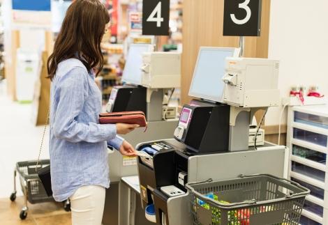 Grocery self-service checkout